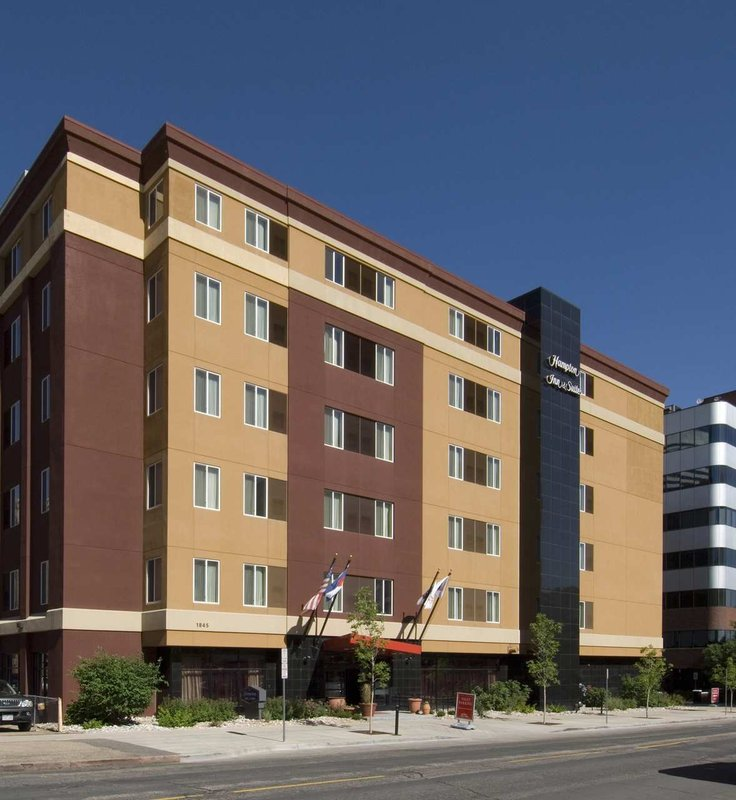Hampton Inn & Suites Denver-Downtown, CO Außenansicht