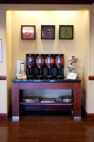 Hampton Inn - Suites El Paso West - Complimentary 24 hr Coffee   Tea Station