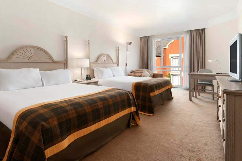 Hilton Leicester hotel Vista della camera