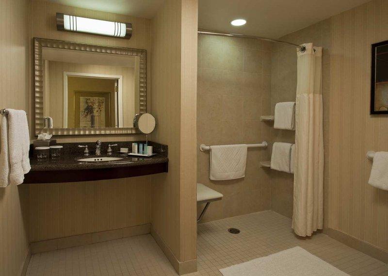 Hilton Newark Penn Station Vista do quarto