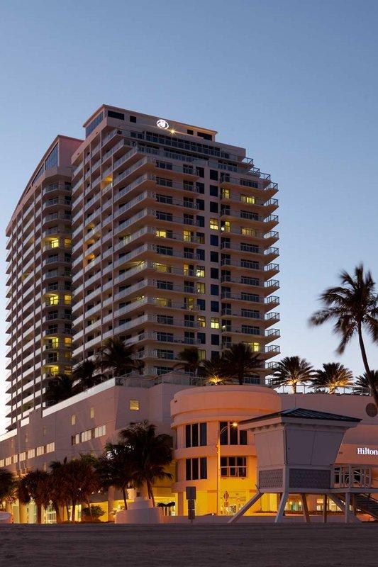Hilton Fort Lauderdale Beach Resort Pohled zvenku