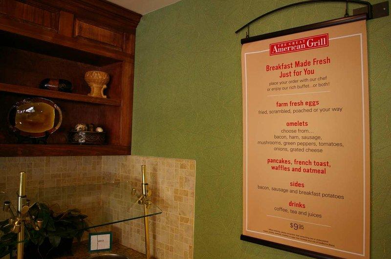 Hilton Garden Inn Greensboro Gastronomía