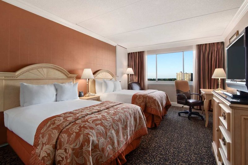 Hilton Philadelphia City Avenue Вид в номере