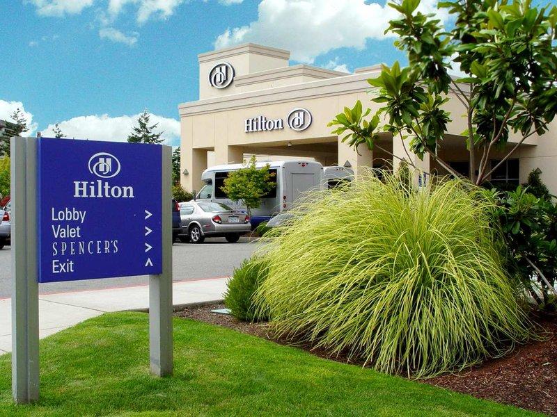Hilton Seattle Airport & Conference Center Widok z zewnątrz