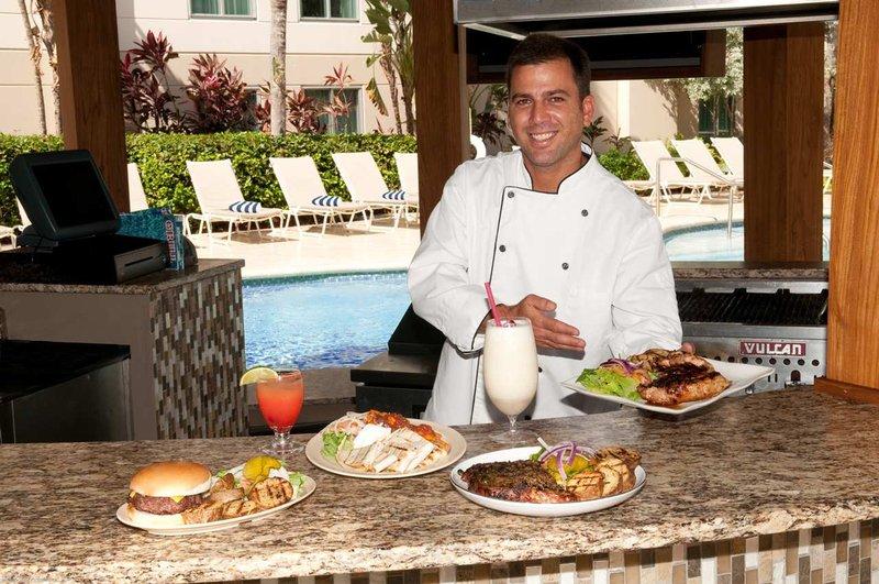 Hampton Inn & Suites San Juan Gastronomie