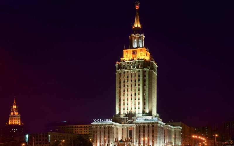 Hilton Moscow Leningradskaya 外景