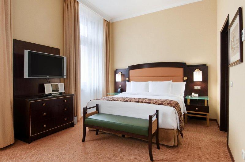 Hilton Moscow Leningradskaya 客房视图