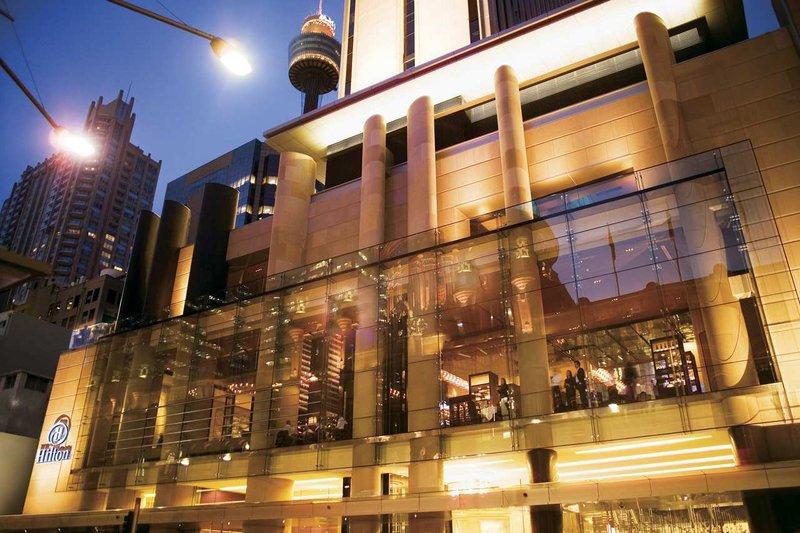 Hilton Sydney Vue extérieure