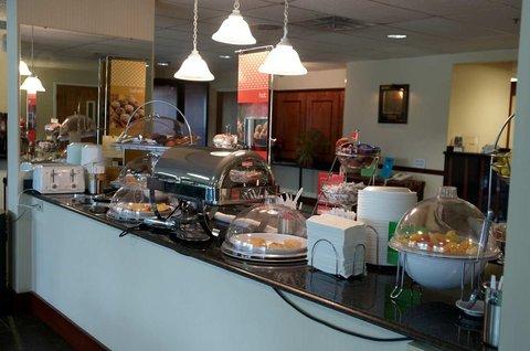 Hampton Inn Wooster - Breakfast Bar
