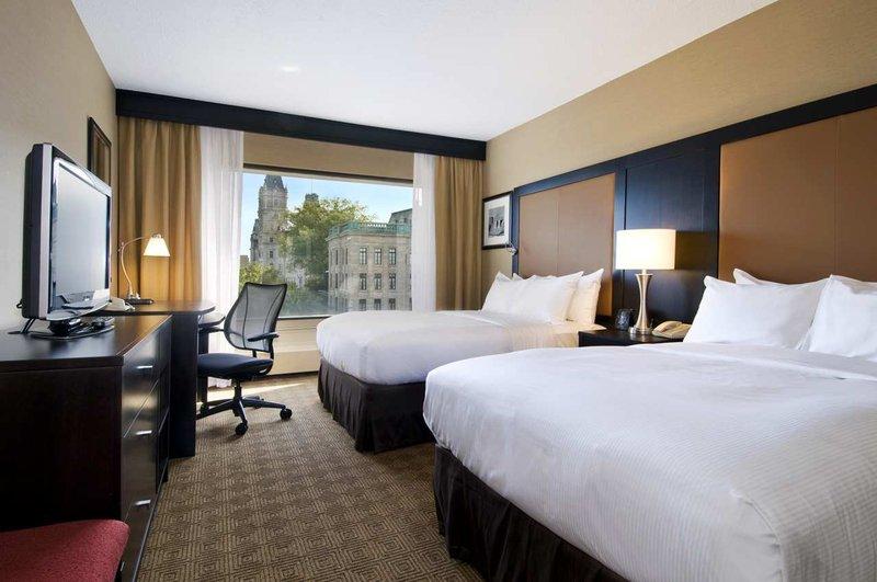 Hilton Quebec Zimmeransicht