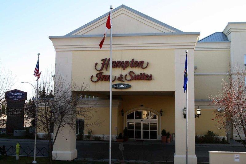 Hampton Inn & Suites Calgary University Ulkonäkymä
