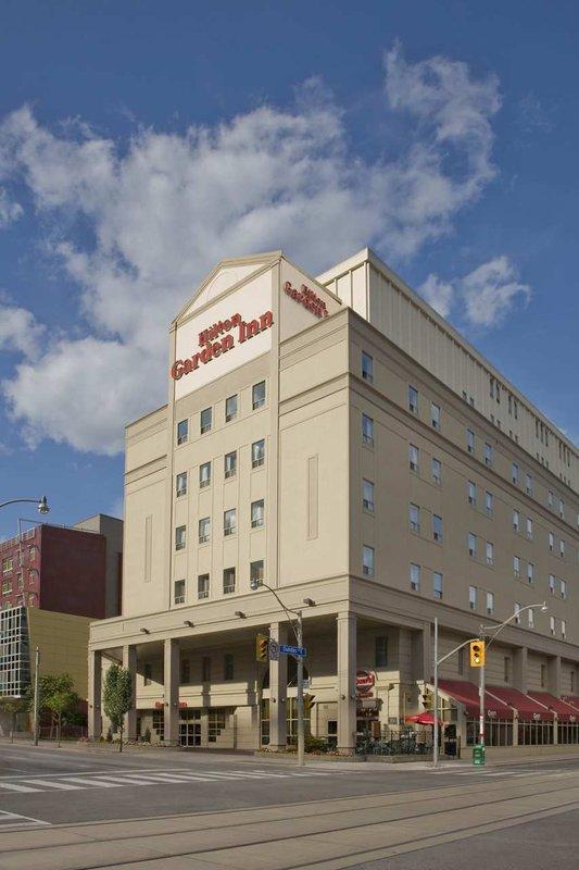 Hilton Garden Inn Toronto City Centre Kilátás a szabadba