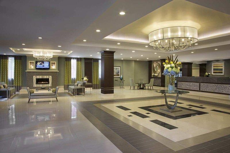 Hilton Garden Inn Toronto City Centre Előcsarnok