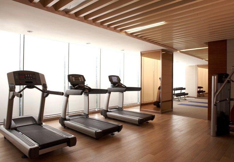 上海绿地万怡酒店 健身俱乐部