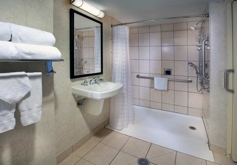 Embassy Suites Chicago - Downtown - Accessible Roll In Shower
