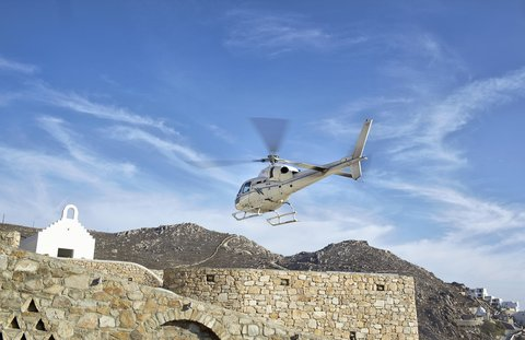 Myconian Imperial Resort & Thalasso Spa Center - Helicopter Service