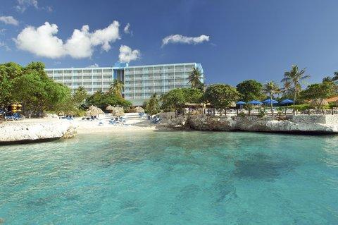 Curacao Hilton Hotel - Exterior hotel from Piscadera Bay