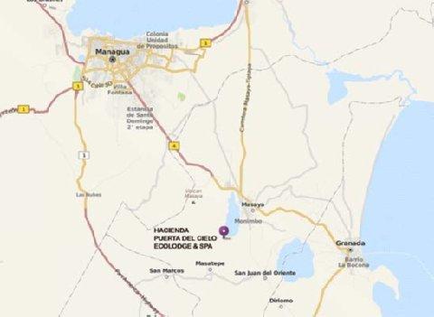Hacienda Puerta Del Cielo - Map