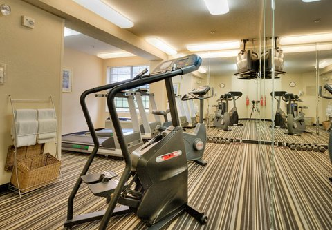 TownePlace Suites Charlotte University Research Park - Fitness Room