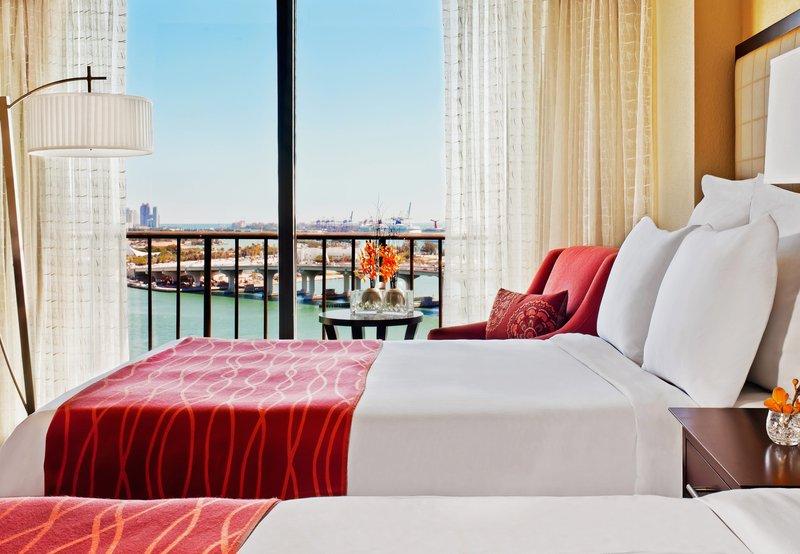 Marriott Biscayne Bay Hotel and Marina Vista do quarto