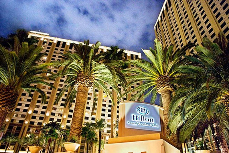 Hilton Grand Vacations Club on the Las Vegas Strip Buitenaanzicht