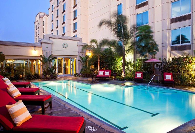 Doubletree Hotel Los Angeles/Commerce Widok basenu