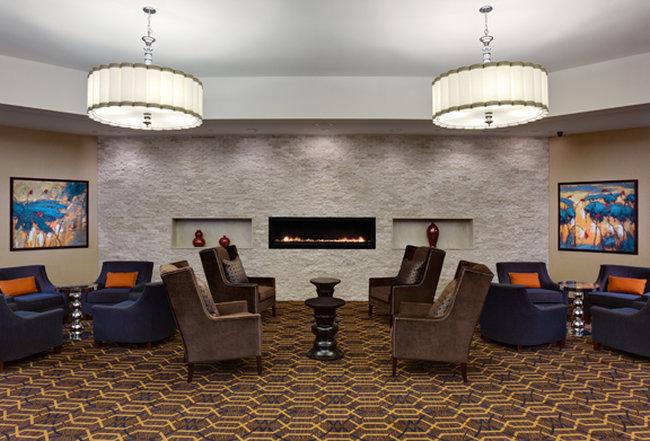 Sheraton Westport Plaza Hotel St. Louis Lobby