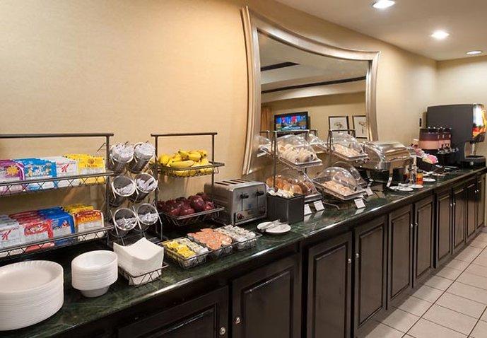SpringHill Suites Savannah/Midtown Gastronomia