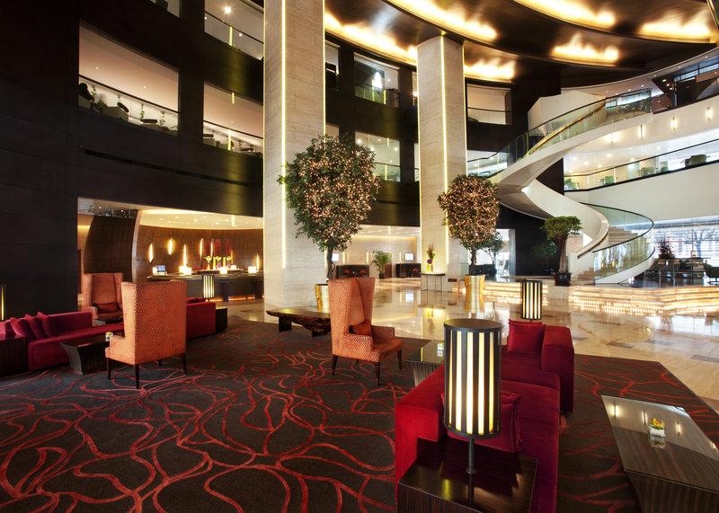 Longemont Hotel Shanghai Lobby