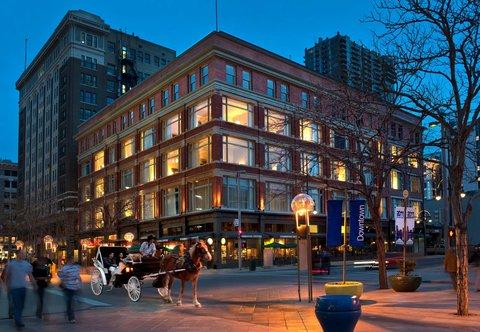 Marriott Courtyard Denver Downtown Hotel - Exterior