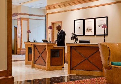 Marriott Courtyard Denver Downtown Hotel - Front Desk