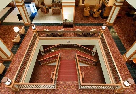 Marriott Courtyard Denver Downtown Hotel - Lobby Atrium
