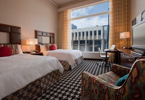 Marriott Courtyard Denver Downtown Hotel - Queen Queen Guest Room