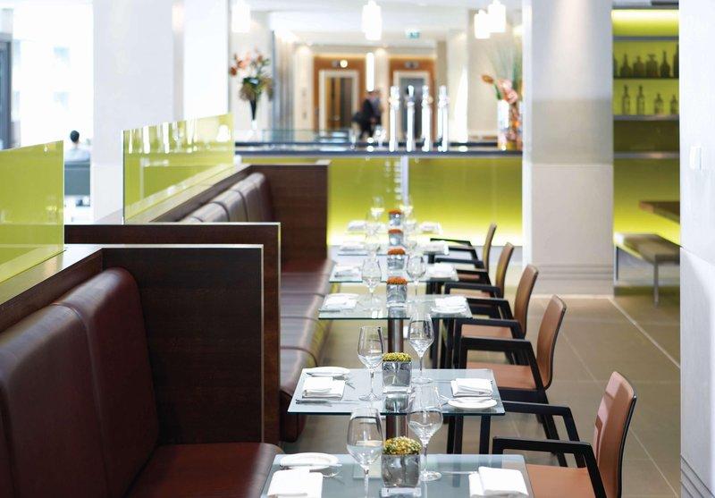 Hilton London Canary Wharf hotel Gastronomía