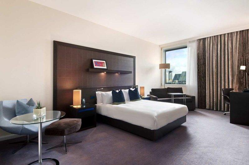 Hilton London Canary Wharf hotel Vista de la habitación