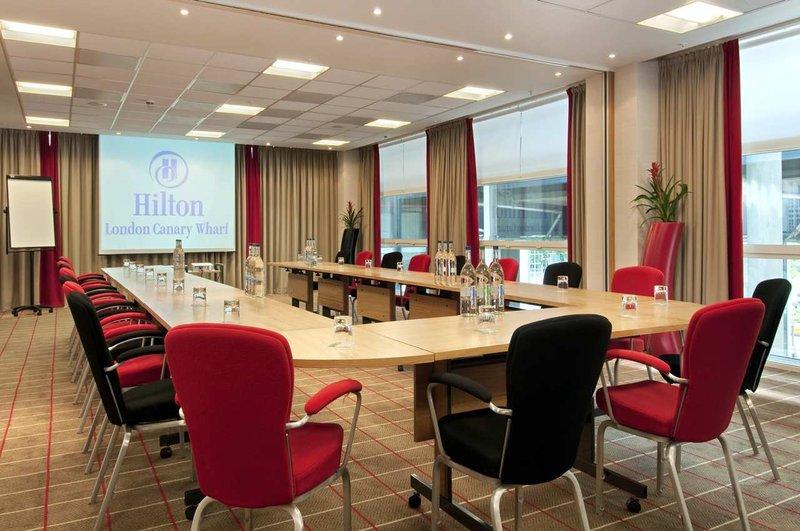 Hilton London Canary Wharf hotel Sala de conferencias