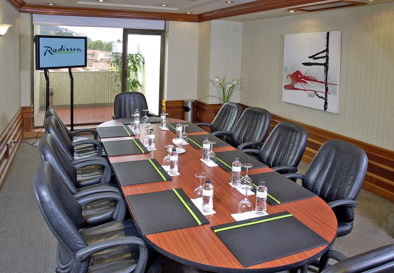 Radisson Royal Bogota Hotel 会議室