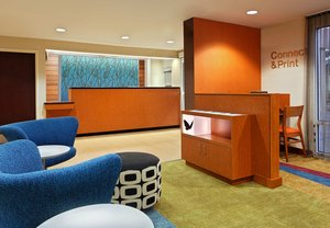 Lobby - Fairfield Inn by Marriott Arrowood Charlotte