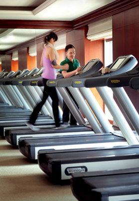 The Ritz-Carlton Guangzhou Clube de fitness