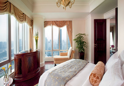 The Ritz-Carlton Guangzhou Vista do quarto