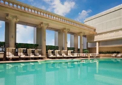 The Ritz-Carlton Guangzhou Vista da piscina