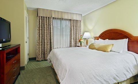 希爾頓黑得希爾頓花園酒店 - King Suite