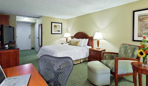 希爾頓黑得希爾頓花園酒店 - King Bed Guest Room