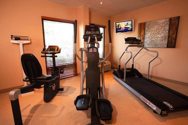 Hampton Inn closest to Universal Orlando Fitness-klubb