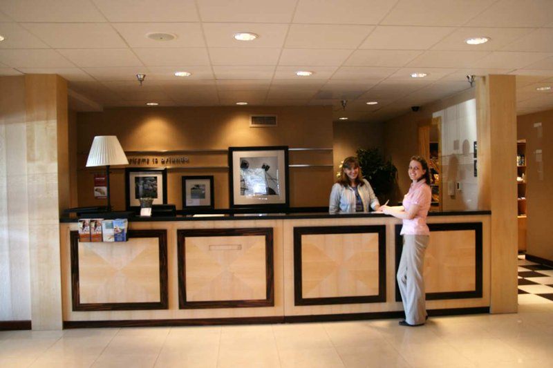 Hampton Inn closest to Universal Orlando Lobi