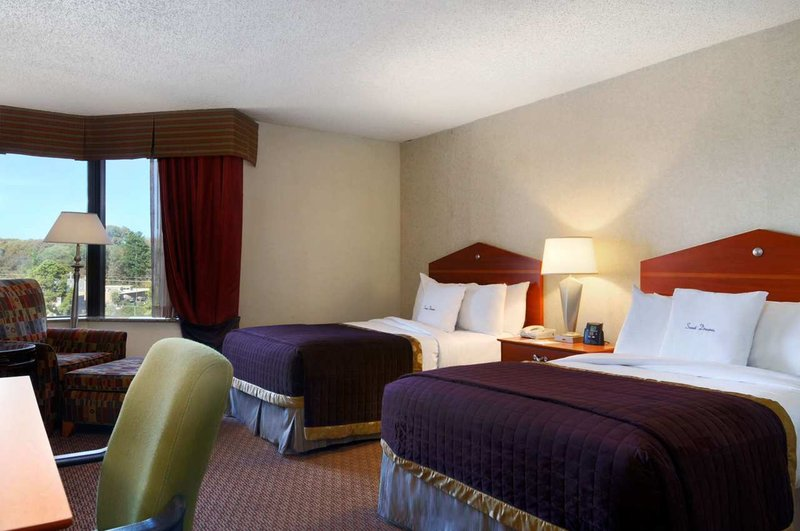 Doubletree Hotel Memphis Szobakilátás