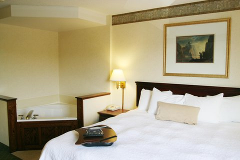 Hampton Inn Marietta OH - King Room with Whirlpool