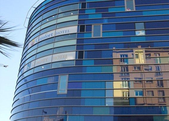 Quality Hotel Centre Del Mon Außenansicht