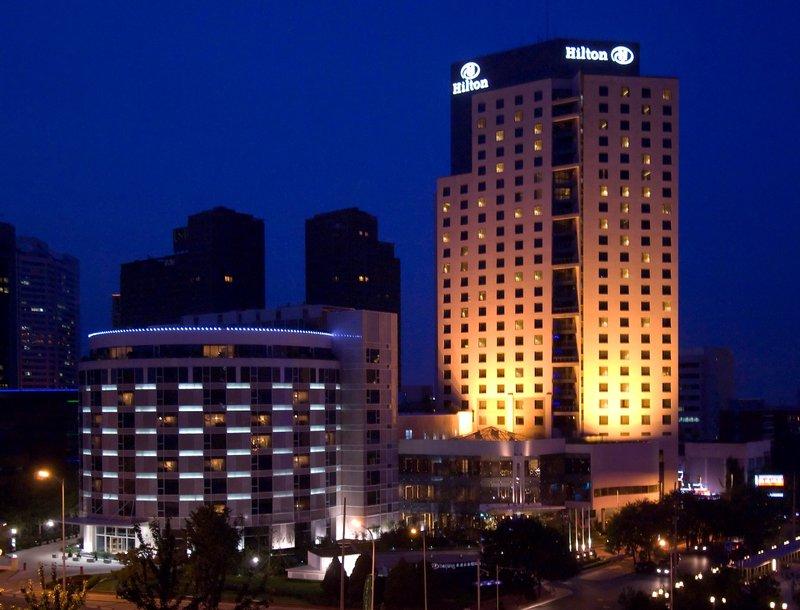 Hilton Beijing Hotel Kilátás a szabadba