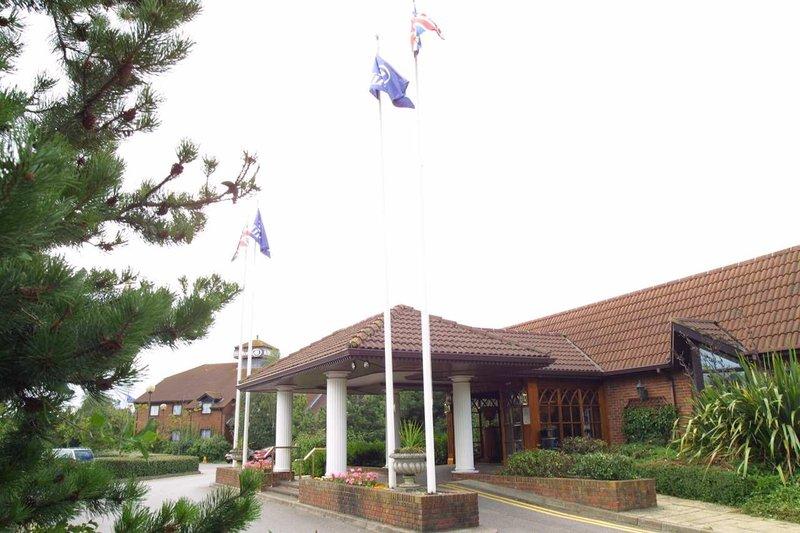 Hilton Newbury Centre Kilátás a szabadba
